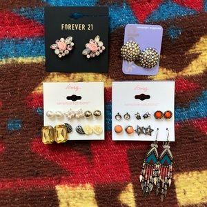 14 pair earring bundle